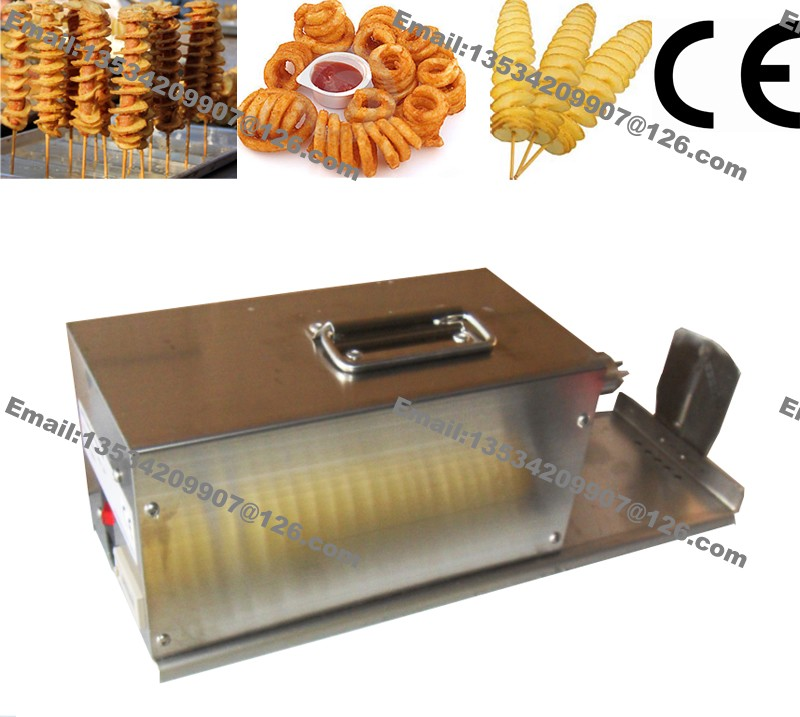 Free Shipping Commercial 110v 220v Electric Curly Fries