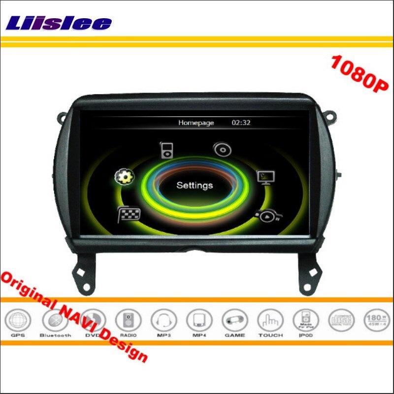 Liislee For BMW MINI 2014~2016 Car Stereo Radio CD DVD Player GPS Nav Map Navigation 1080P HD Screen System Original NAVI Design