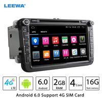 8inch Android 6 0 64bit DDR3 2G 16G 4G LTE Car DVD GPS Radio For Skoda