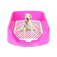 Pet Fence Toilet Blue Pink Dog Urinate For Small Dog Teddy Dog Pets Puppy Clean Stool Toilet Pet Product