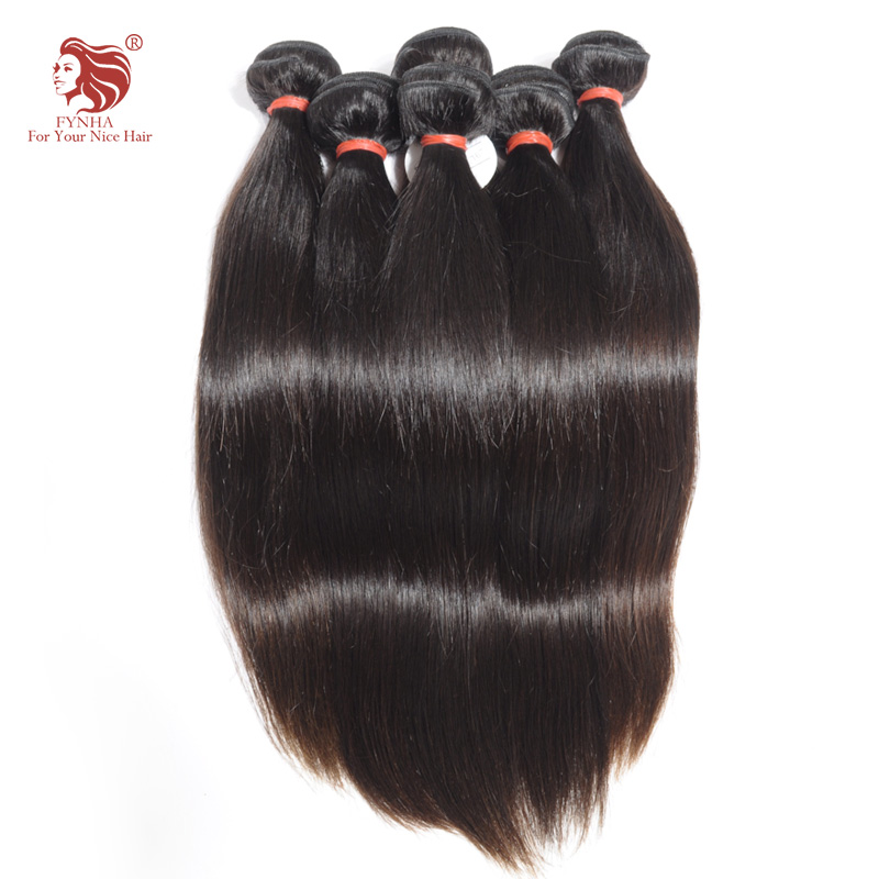 ФОТО 7A Peruvian virgin hair straight unprocessed human hair weave 2 bundles for your nice hair products 12-30