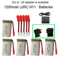 JJRC H11D H11C H11WH battery Ultra-high Capacity 3.7V 1200mAh rc drone quadcopter JJRC H11D H11WH series parts