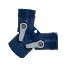 1 Pcs Garden Drip Irrigation Water Connector For G 3/4  pipe  Garden Hose Coupling