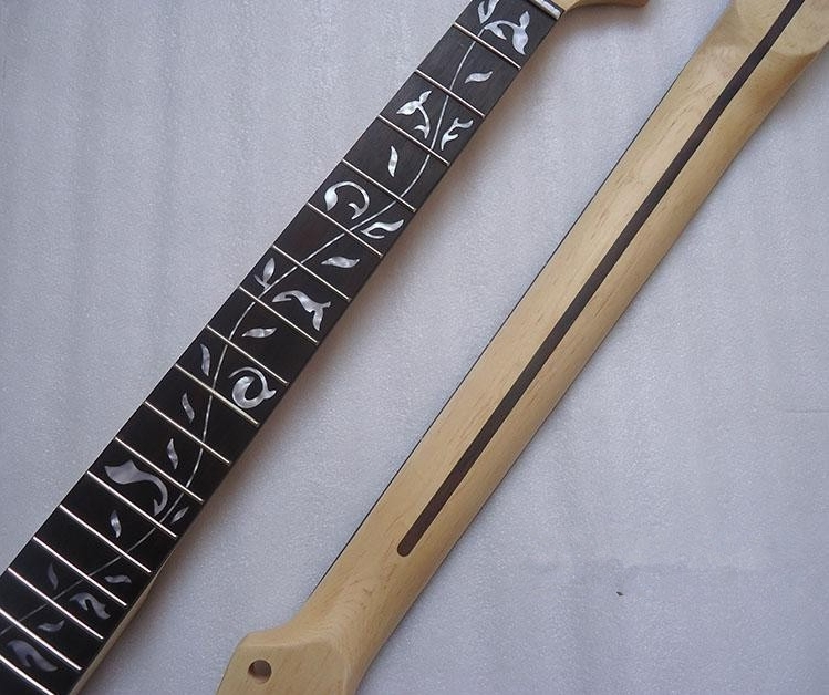 disado Muziekinstrumenten 22 Frets inlayTree of Life esdoorn - Muziekinstrumenten - Foto 3