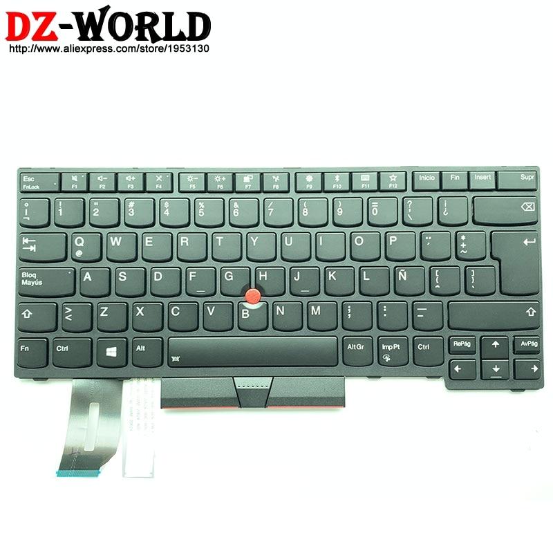 Latin American Spanish Backlit Keyboard for Lenovo Thinkpad E480 T480S L480 T490 E490 T495 L490 L380