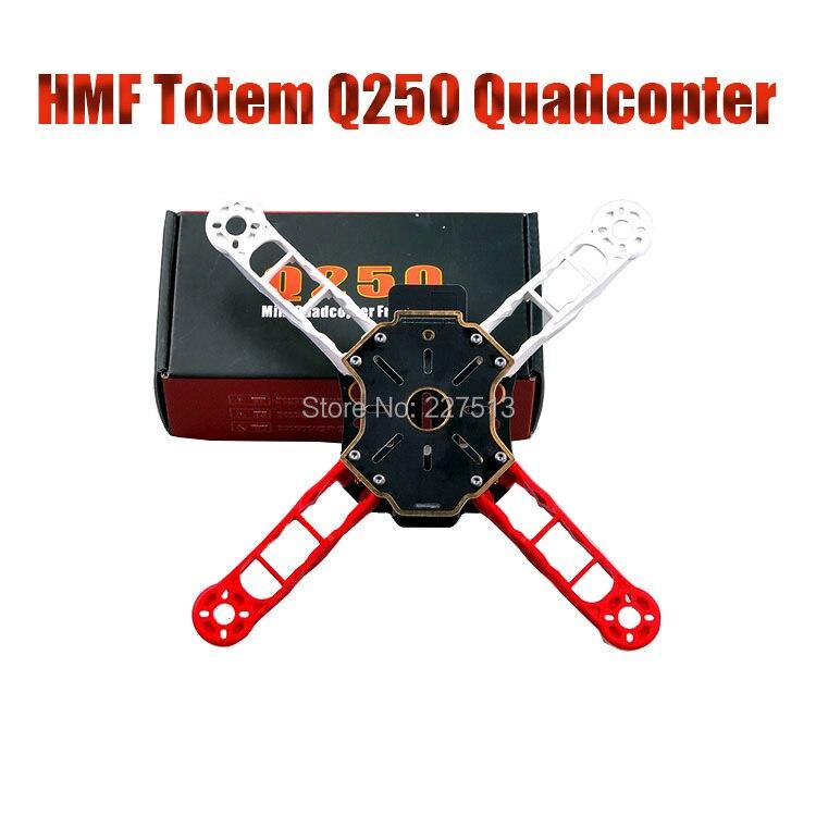 Quadcopter-Frame-Kit Better Ultralight Mini Q250 250-Hmf Center-Board Totem FPV Than