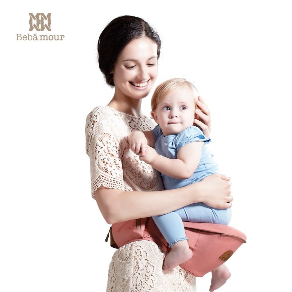 e8f0c993ef34 Lujo 9 en 1 portador hipseat bebé ergonómico 360 mochila portabebe honda  mochila de bebé Canguros para niños abrigo del bebé en Morrales y Portadores  de ...