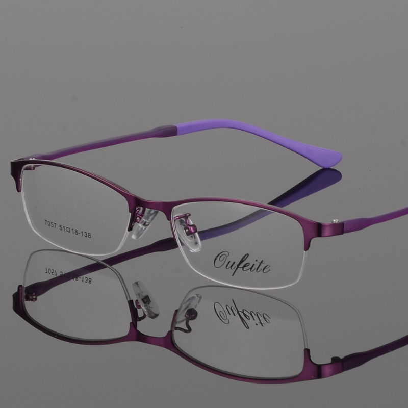 BCLEAR New Arrival Women Metal Alloy Glasses Frame Ultra-Light Frames - Kläder tillbehör - Foto 4