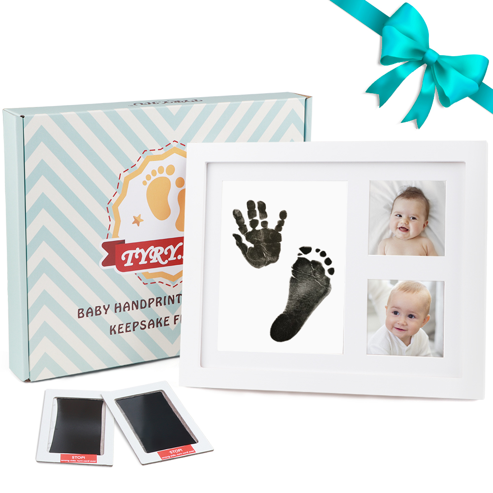 TYRY.HU Non Toxic Baby Handprint Footprint Newborn Ink Pad Toys Gift For Baby Photo Frame DIY Handprint Footprint Imprint Kit