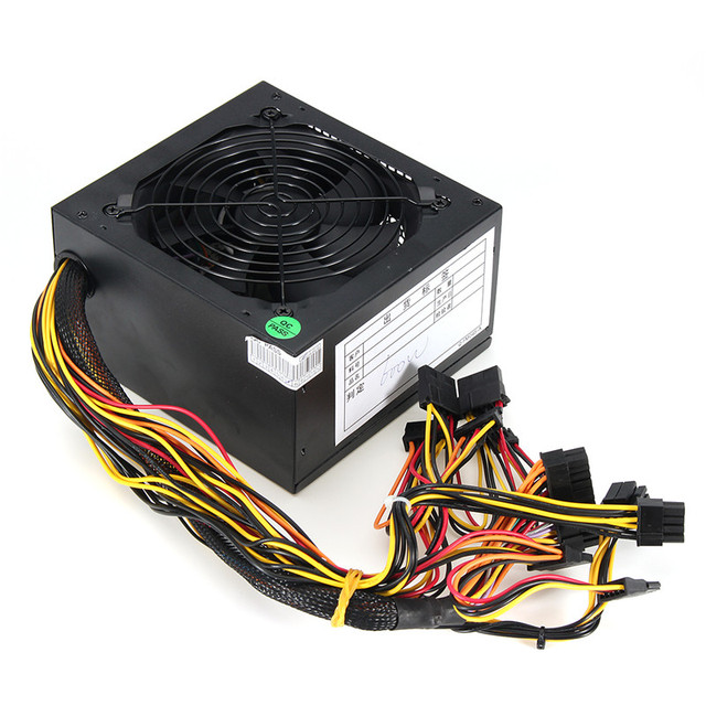 High Quality 1000W Computer PC Power Supply for CPU 5
