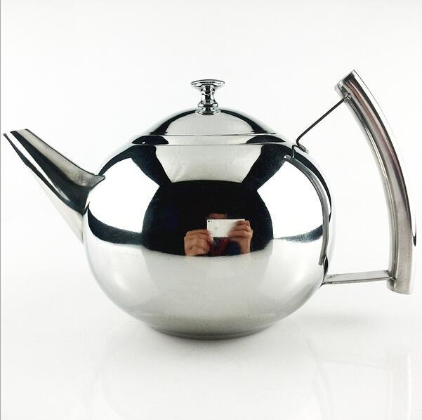 304 Stainess Stahl Teekanne Kaffee Tee Wasserkocher Wasser Topf ...