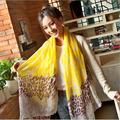 New Fashion Leopard print bandana scarf for women become gorgeous made with volie can sunscreen in spring