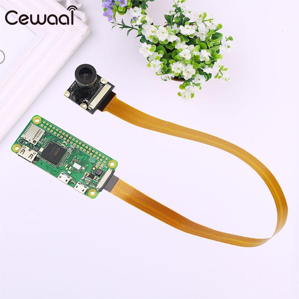 cewaal Camera FFC Cable Connection Wire Cord For Raspberry Pi Zero 30CM Computer Accs Connect cable