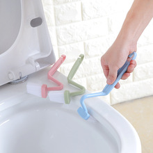 Высокое качество, s-образная Чистящая Щетка с крючком, мягкие волосы, щетки для унитаза, чистящая щетка для ванной комнаты, бытовые кухонные чистящие инструменты