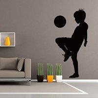 Children Football Enlightenment Football Home Decor Ideas Bedroom Kids Room Removable Wall Sticker X424
