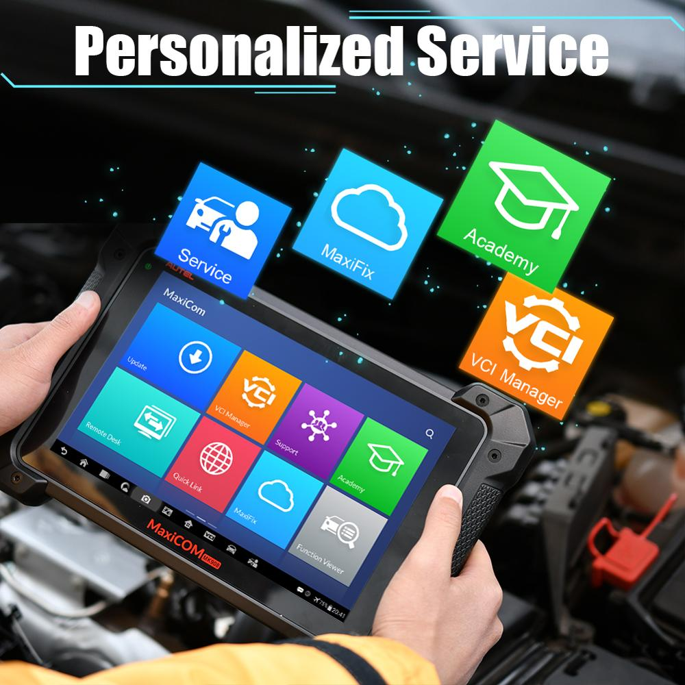 Image 3 - Autel MaxiCOM MK908P MK908 PRO Diagnostic Tool MaxiSys MS908P OBD2 Scanner PK MaxiSys Pro Elite ECU Programming for BMW for BENZ-in Engine Analyzer from Automobiles & Motorcycles