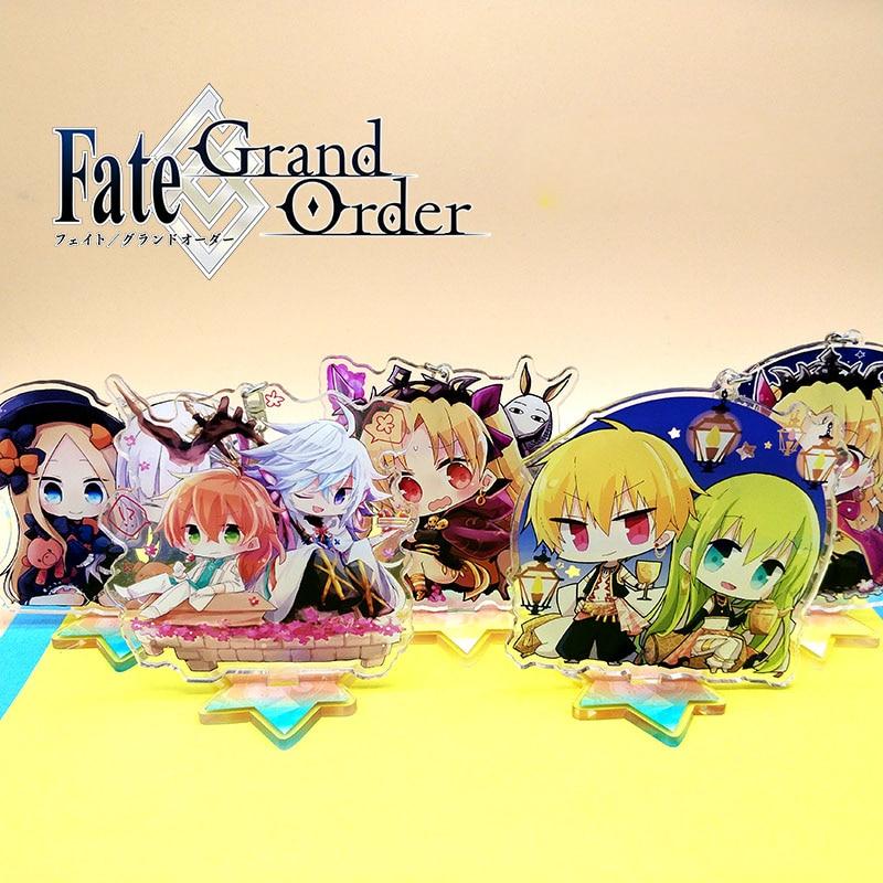 Anime Fate/Grand Order Ereshkigal Merlin Acrylic Keyring Pendant Bag Phone Pendant Gifts