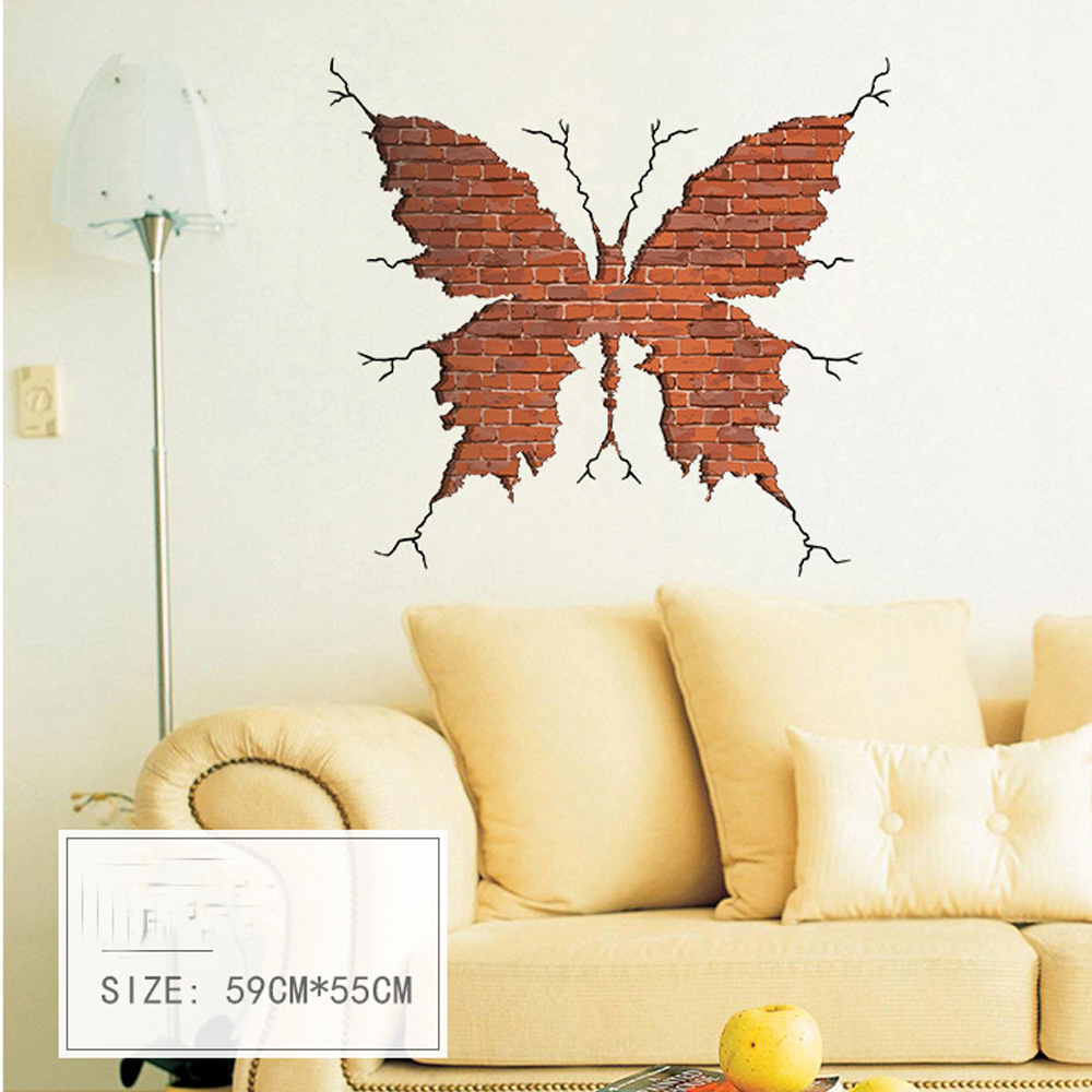 candiway Butterfly wall Fairy Dance Living Room kids Bedroom Wall ...