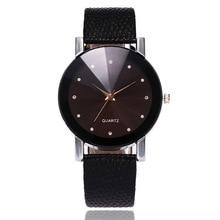 купить Hot Fashion Watch Men Luxury Brand Unisex Popular Womens Watches Quartz Stainless Steel Case Leather Band Wristwatch Clock Gift дешево