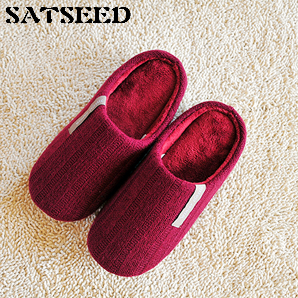 New Home Winter Shoes Couple Vamp Woven Cotton Slippers Non-slip Bottom Home Slippers Indoor Slippers Flat With Casual Shoes jianbudan 2017 new winter high quality cotton shoes men and women indoor warm slippers non slip mute home cotton drag