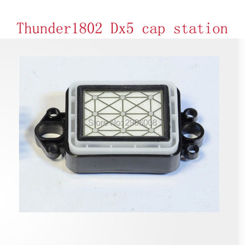Top quality double head dx5 dx7capping station cap top sheet capping for gongzheng thunderjet zhongye printer spare parts