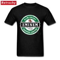 Designer Tee Eminem T Shirt Slim Shady Gentlemen Short Sleeves O Neck Cotton T Shirt Men