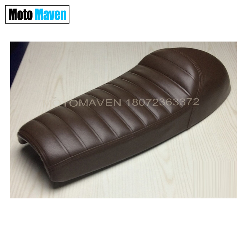 2016 BRAND NEW  HUMP MASH CAFE RACER SEAT RETRO LOCOMOTIVE CUSHION SIMA  MOTOCYCLE SADDLE