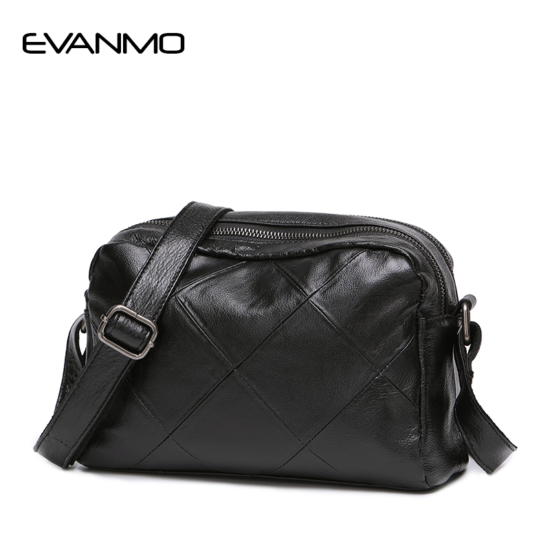 New solid plaid envelope women genuine leather handbag High Quality ladies crossbody messenger Black Red Blue Grey shoulder bag цена 2017
