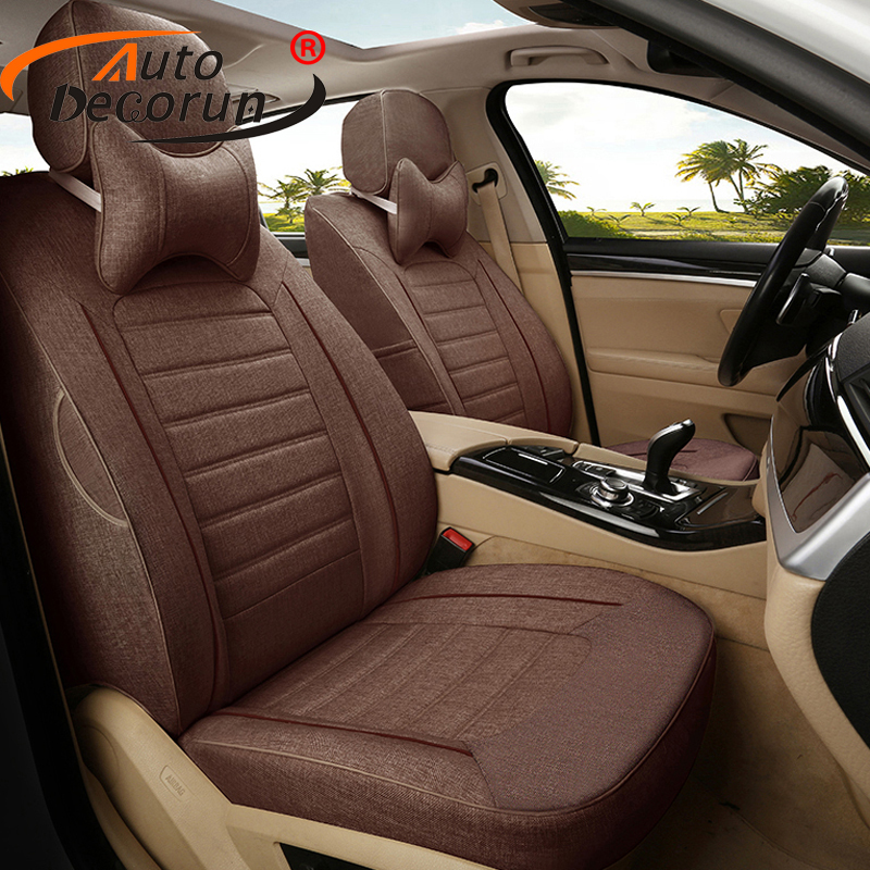 AutoDecorun Custom Auto Seat Cover for Mercedes Benz S classe Accessories Cover Seats Set Car Seat Cushion Interior Car Styling