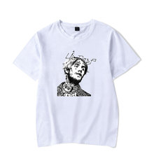 Lil Peep T Shirts Man and Women Summer Cotton O-neck Black Short Sleeve T-shirts Fmale Punk Rock Hip Hop Tops Tee Plus Size 4XL