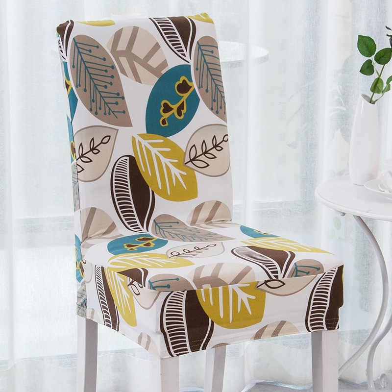 JaneYU 23 cores Impresso Spandex do Estiramento de Jantar Tampa Da Cadeira Do Banquete Padrão Floral Estilo Muliti Slipcover Lavável Na Máquina
