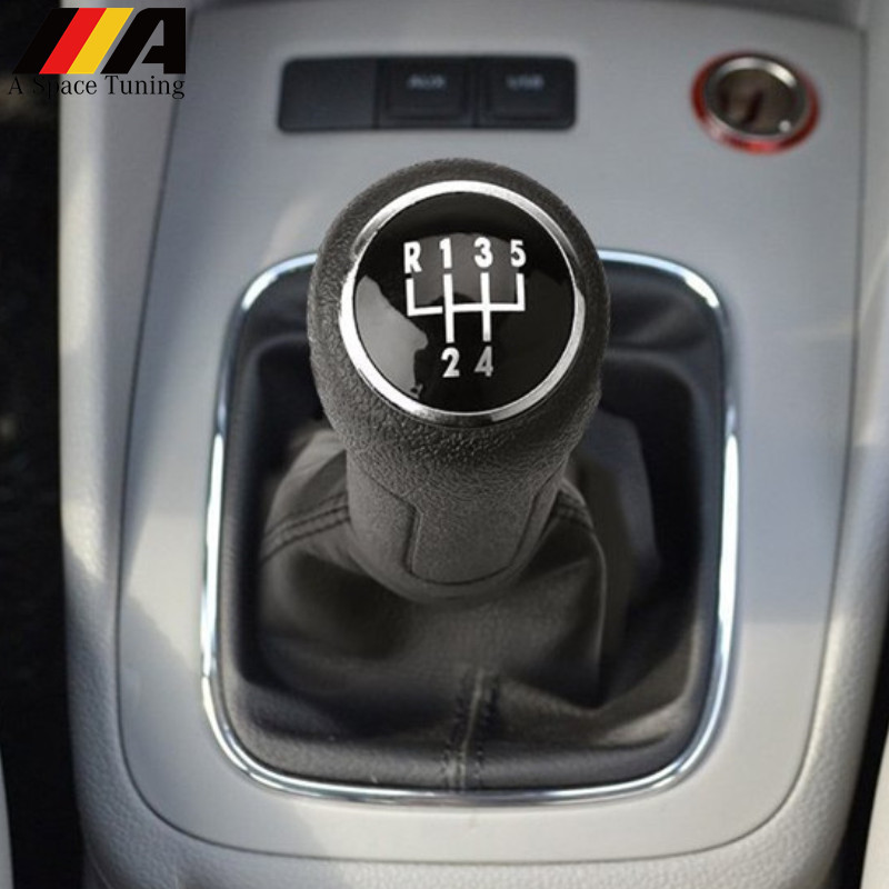Gear Shift Knob Gaiter Boot Lever Stick Handle Head Cover Car Styling Accessories For Volkswagen VW Polo 9N 9N2 2002-2009