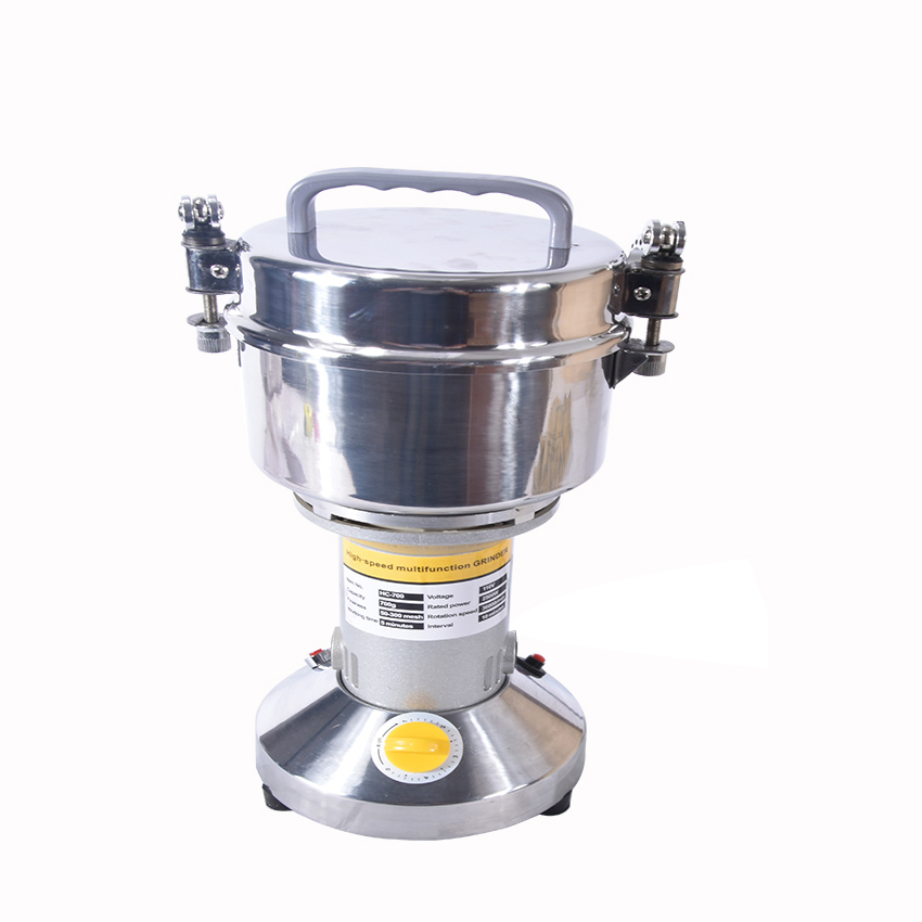 HC-700T 700g Multifunction Mill Grinding Machine Electric Grinder Herb Flour Coffee Pulv ...