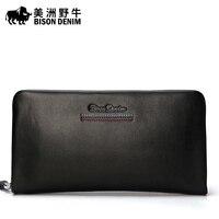 Bison Hand Bag Male Leather Business Men S Hand Capture Korean Large Capacity Cross Cowhide Handbag