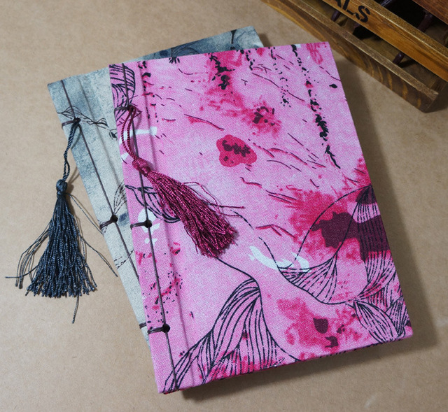 Fabric Book Cover Design ~ Wholesale retro vintage handmade cotton fabric book cover