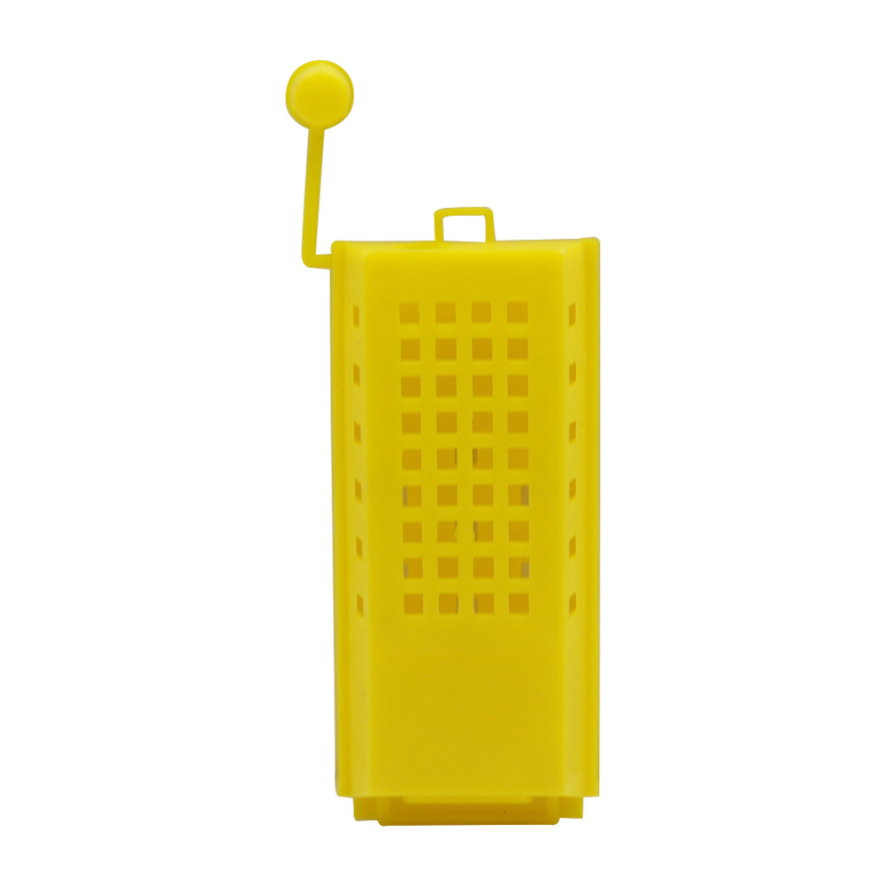 Captivity Bee Queen Beekeeping Yellow Plastic Queen Bee Cage Apiculture Tools Bees Equipment 5 PcsCaptivity Bee Queen Beekeeping Yellow Plastic Queen Bee Cage Apiculture Tools Bees Equipment 5 Pcs