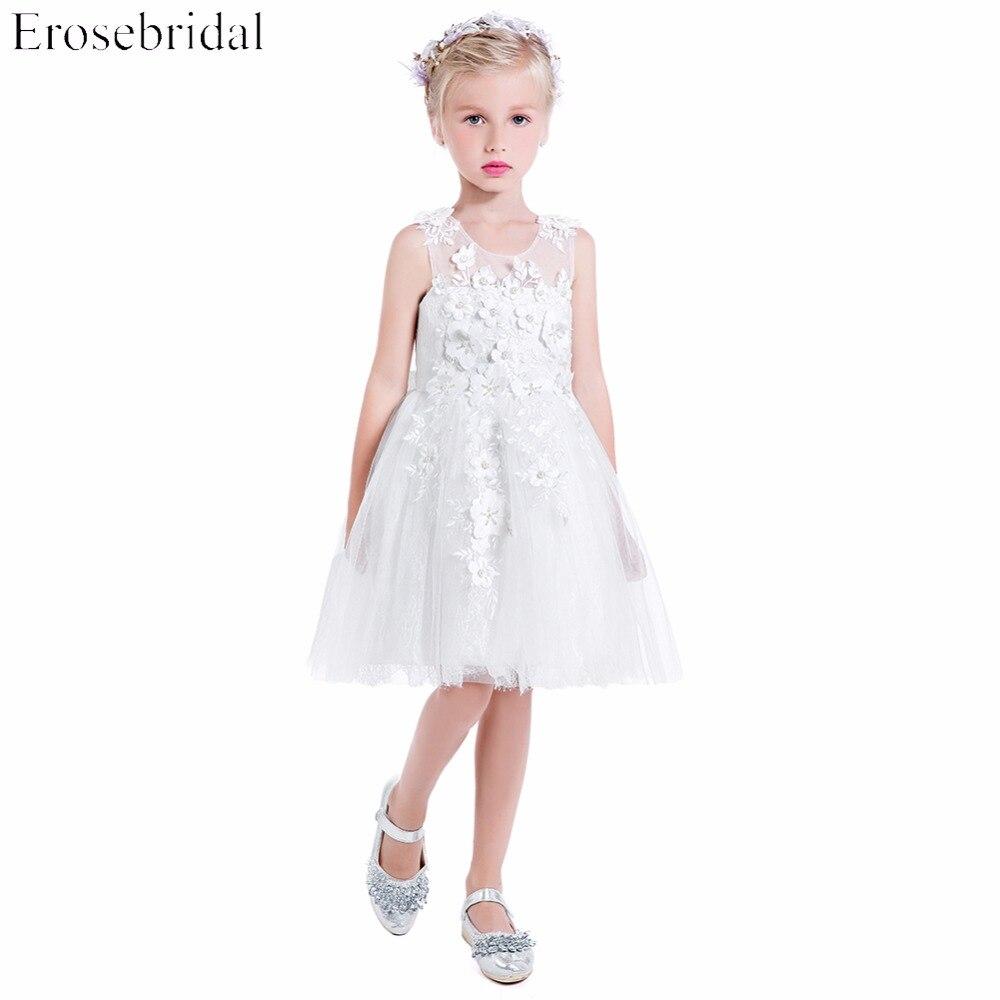 Beautiful Wedding Dresses 2019: 2019 Flower Girls Dresses Erosebridal Beautiful Wedding