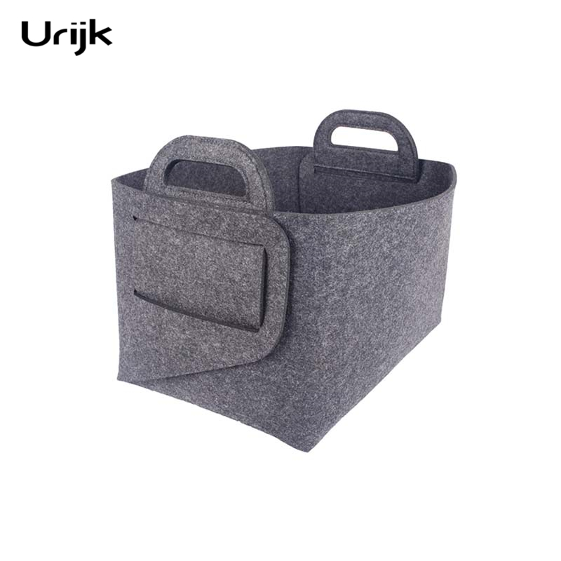 Urijk Sundries Storage Basket Collapsible Storage Box For Office Desk  Sundries Bedroom Closet Toys Organizer Laundry Basket
