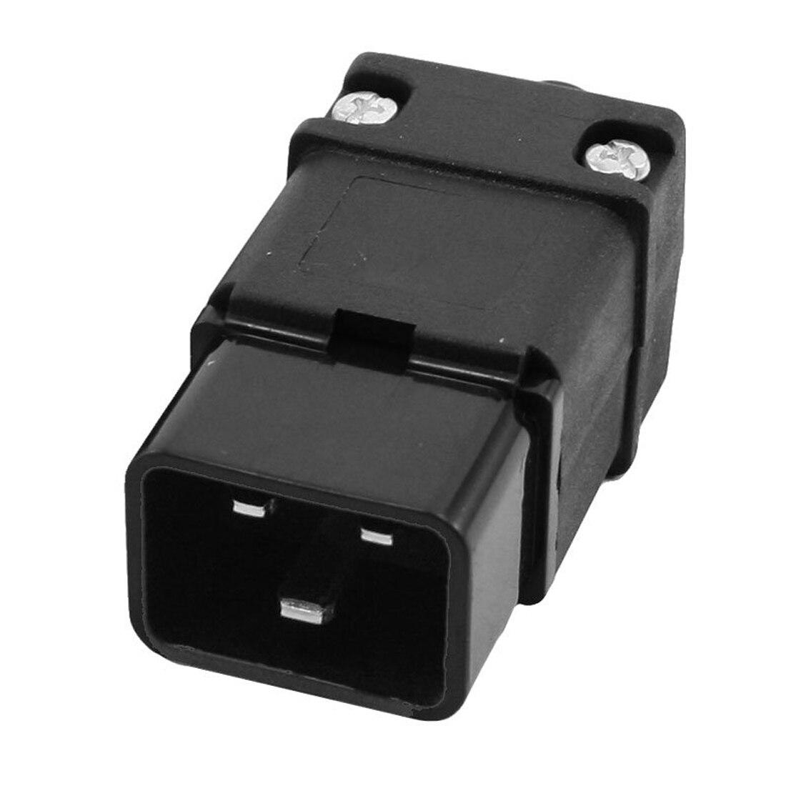 Новые поступление 2 в 1 16a 250vac IEC320 серии C19 Plug C20 разъем для Мощность шнур