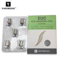 Электронная сигарета катушка 5 шт. испаритель Керамический Мини EUC/Clapton мини EUC катушка SS316 1,3 Ом 1,4 Ом для капельного парения комплект