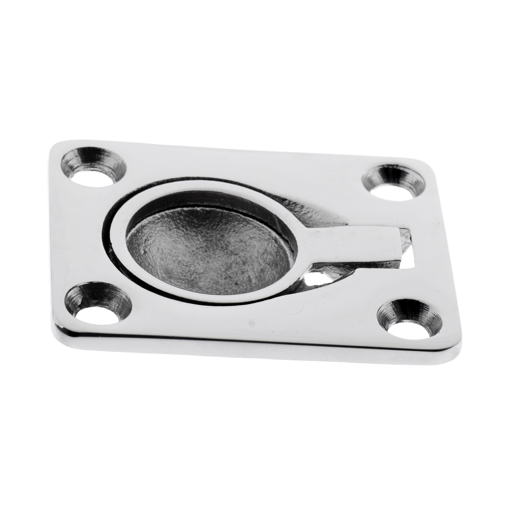 Stainless Steel Marine Casting Handle Ring Handle Pull Lift Flush Hatch Locker