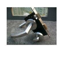 304 STAINLESS STEEL HOLLOW DOOR LOCK WITH DOOR HANDLE, CYLINDER AND LOCKBODY