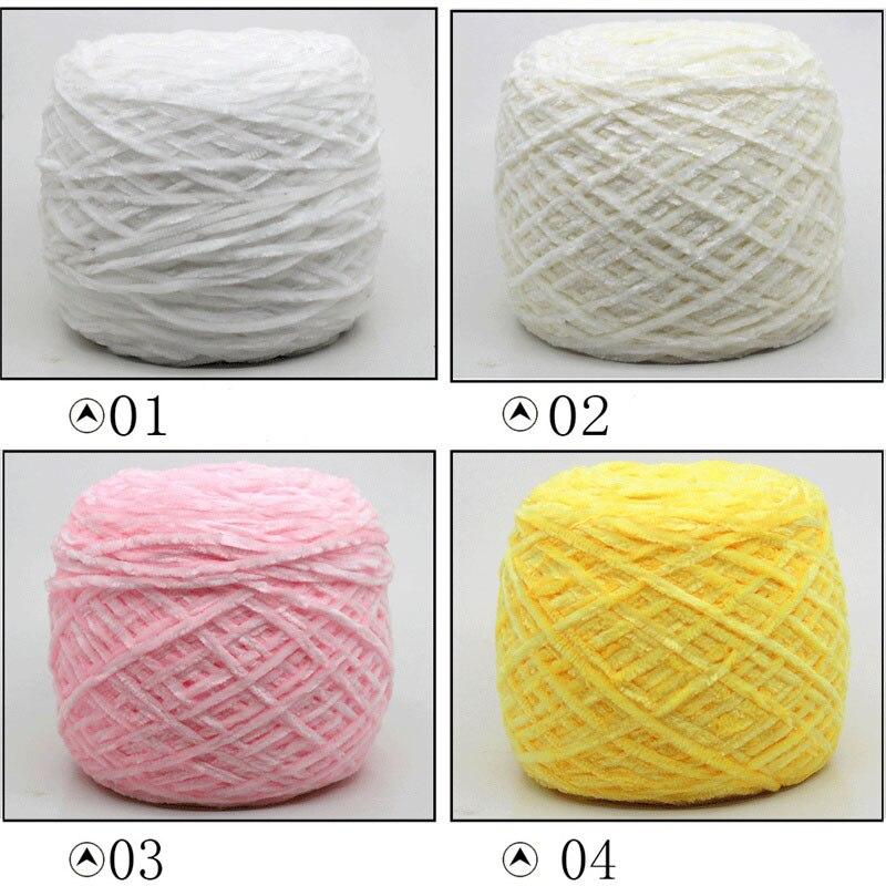 №Oro terciopelo de seda solo filamento chenille seda gruesa bufanda ...
