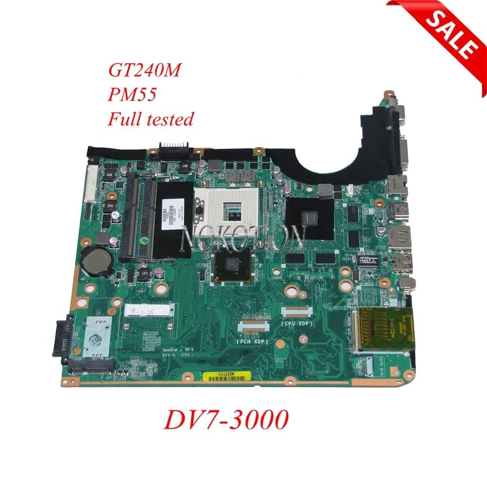 NOKOTION 575477-001 DA0UP6MB6E0 REV E Laptop motherboard for HP Pavilion DV7-3000 Series Main board full tested x556u usb board for asus x556u x556uj x556ujq x556ub x556ua x555uv laptop dedicated rev 2 0 usb io board tested well