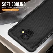 Carbon Silicone TPU Case For Samsung Galaxy J4 J6 A6 A8 Plus