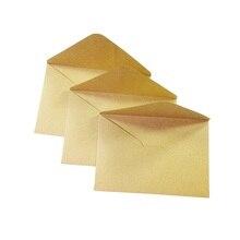 100 Stks/partij Vintage Kraftpapier Envelop 16*11Cm Diy Multifunctionele Gift Card Enveloppen Voor Bruiloft Verjaardag