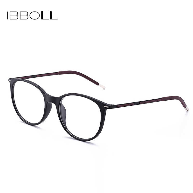508b3b3bcc490 ... ibboll Luxury Optical Glasses 2018 Classic Eye Glasses Frames for Men  Fashion Clear Eyeglasses Male Round ...
