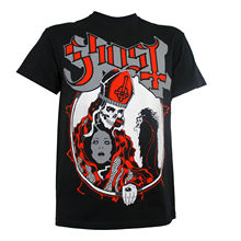 Authentic GHOST Band Possession Logo Skeleton Priest T-Shirt S-3XL NEW Sale 100 % Cotton T Shirt TOP TEE PLUS SIZE HARAJUKU