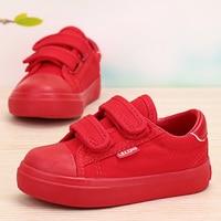 جميل طفلة وفتى قماش بيضاء أحذية 6 ألوان الاطفال عارضة حذاء طفل الطفلة حذاء مسطح ودائم