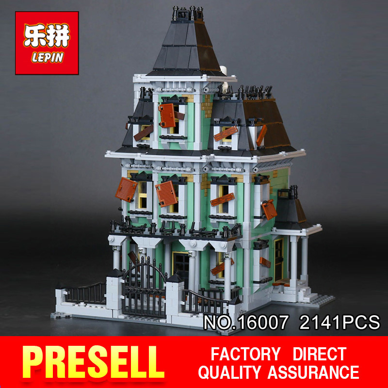 New LEPIN 16007 2141Pcs Monster fighter The haunted house Model set Building Kits Model   Compatible With 10228 Gifts куплю москвич 2141 в костроме